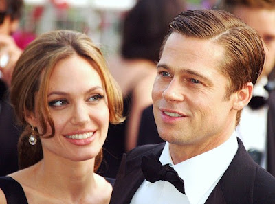 Celebrity Eating Habits - Angelina Jolie and Brad Pitt Cannes