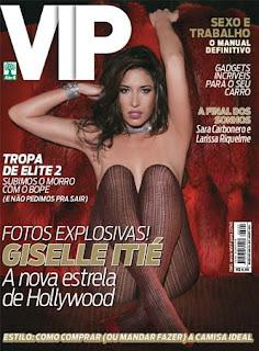 Revista Vip capa agosto 2010