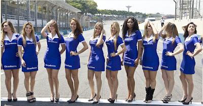 Fotos Grid Girls - GP Brasil 2
