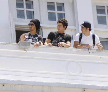 Jonas Brothers no Copacabana Palace 2
