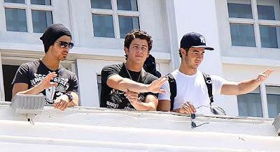 Jonas Brothers no Copacabana Palace