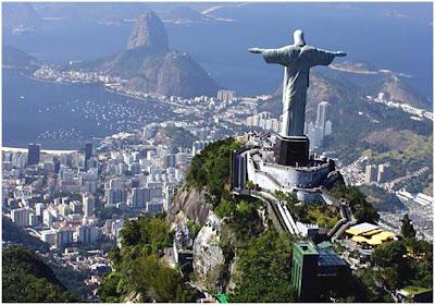 Cartões Postais do Rio de Janeiro - Cristo