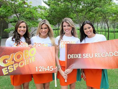Fotos Garotas do Recado - Globo Esporte