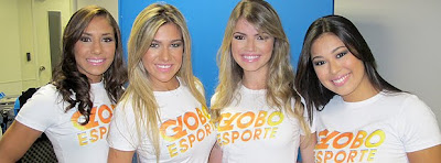 Fotos Garotas do Recado - Globo Esporte 2
