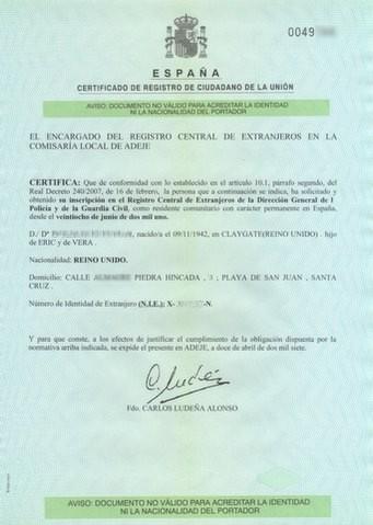 Campopulse european citizens residing in spain no longer - Oficinas empadronamiento barcelona ...