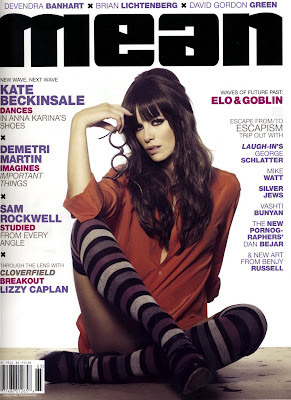 Kate Beckinsale on the Cover of Mean Magazine