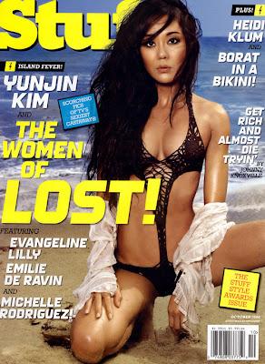 Yunjin Kim Stuff Magazine Pictures