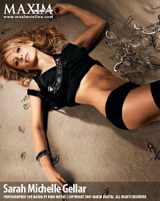 Sarah Michelle Gellar Maxim Pictures
