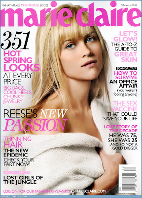 Reese Witherspoon Marie Claire Cover