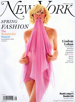 Lindsay Lohan Appears in NY Mag