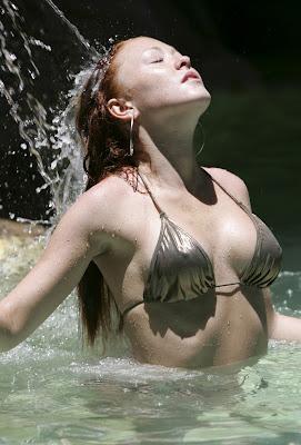Atomic Kitten Singer Natasha Hamilton in a Bikini