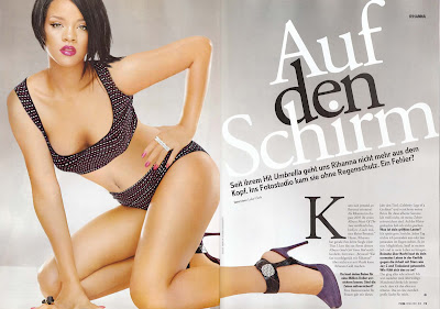 Rihanna in German FHM
