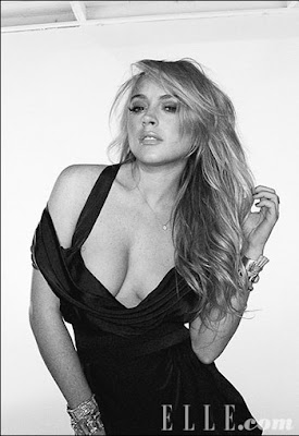 Lindsay Lohan Picture from Elle Magazine