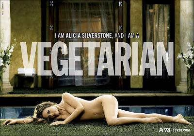 Alicia Silverstone Nude Peta Ad