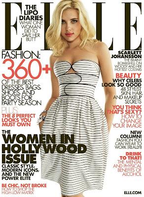 Scarlett Johansson Pictures Elle Magazine
