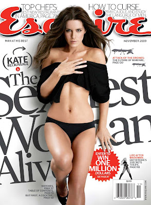 Kate Beckinsale is the Sexiest Woman Alive Esquire Magazine