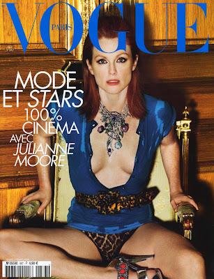 Julianne Moore Paris Vogue Cover
