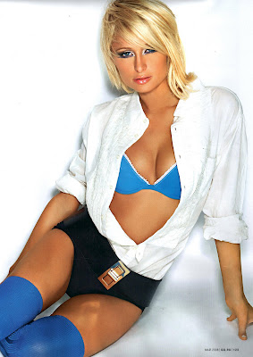 Paris Hilton Pictures from Russian GQ Magazine
