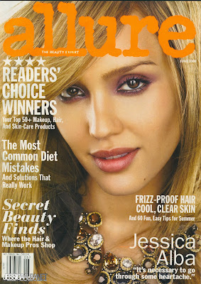 Jessica Alba Pictures from Allure Magazine (June 2008)