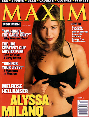 Alyssa Milano Maxim Pictures