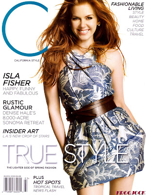 Isla Fisher in California Style (March 2009)