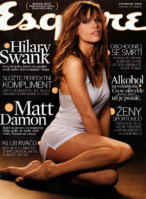 Hillary Swank in Not Much (Czech Esquire 11-09)