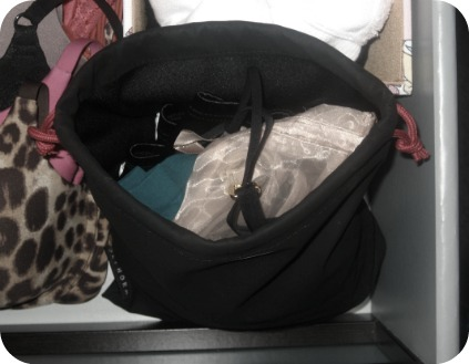bra strap organization storage bag