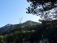 バスティーユ城塞へのトレイルからの景色
