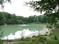 カルネルの森のラック・ブルー Lac bleu
