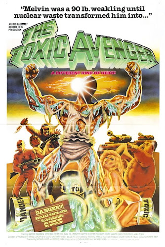 Poster Of The Toxic Avenger 1984 Full Movie Download 300MB In Hindi English Dual Audio 480P Compressed Small Size Pc Movie