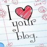 I ♥ Your Blog Award