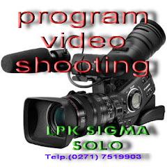KURSUS VIDEO SHOOTING