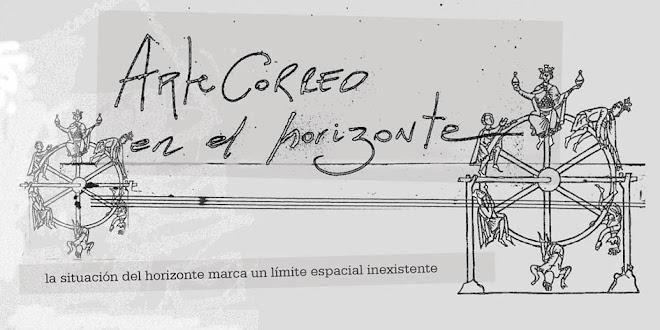 ARTE CORREO EN EL HORIZONTE