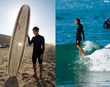 Cardboard Surfboard.