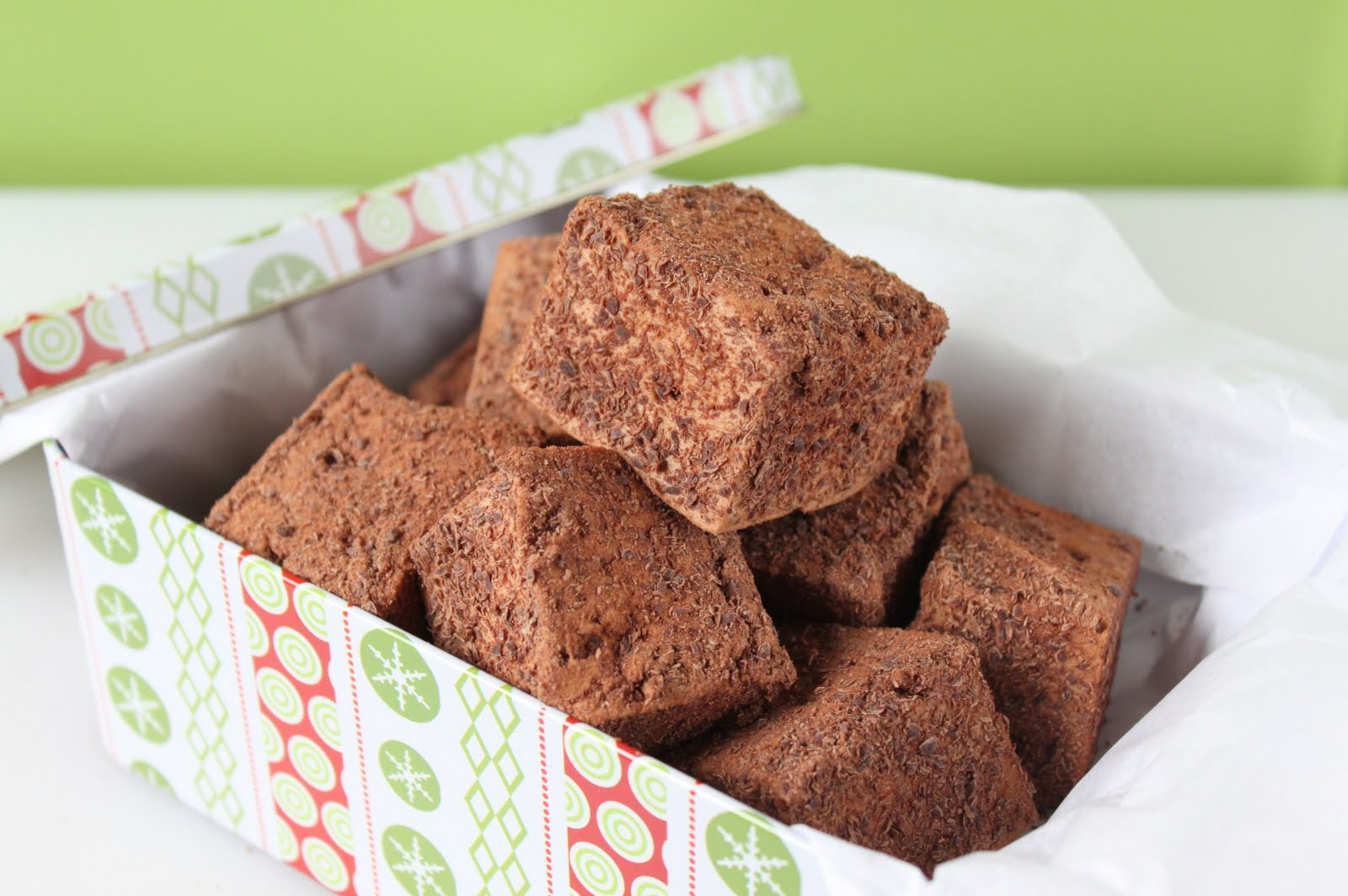 Chocolate Malt Marshmallows | Shauna Sever | The Next Door ...