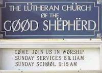 Goofy church sign