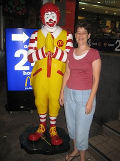 Cheryl and Ronald McDonald