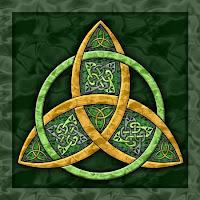 Celtic Trinity Knot by Kristen Fox