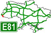 European Route Road E-81 - Европейский автомобильный маршрут Е81