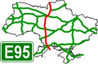 European Route Highway E-95 - Европейский автомобильный маршрут Е95