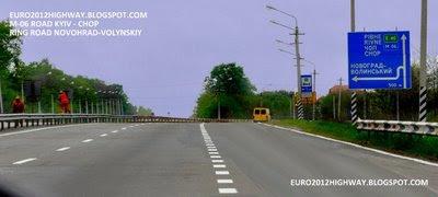 Автодорога М-06 Киев-Чоп. Обход г. Новоград-Волынский
