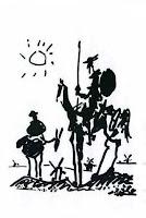 Don Quixote, Pablo Picasso, 1955