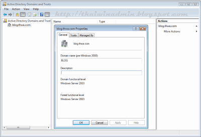 Active Directory Domain and Trust