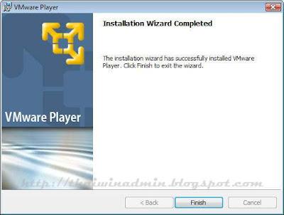 Installation Wizard Complete