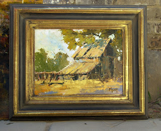 Marcos modernos para pinturas al oleo