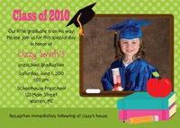 Preschool & Kindergarten Graduation Invitations