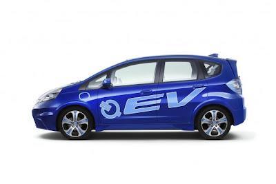 Honda Fit EV Concept 2012