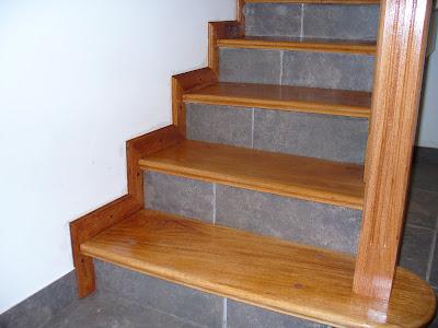 Escaleras y barandas revestimientos sobre hormig n Revestimiento de hormigon