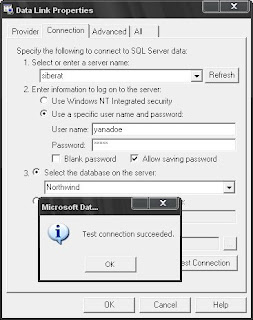 Database Connection Setting