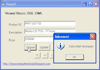 Retrieving data in Visual Basic using SQL Select Statement